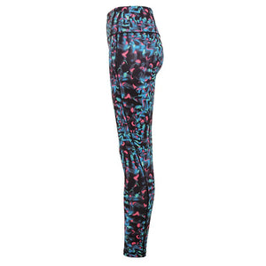 NI Sports Elite Tri Dri Neon Marine Leggings