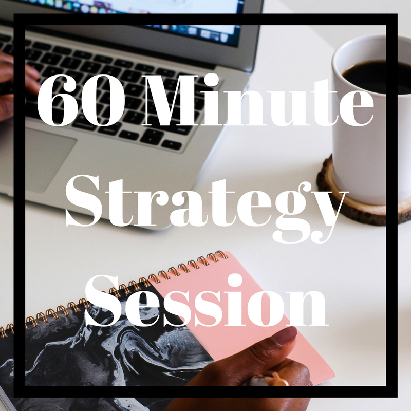 60 Minute Strategy Session