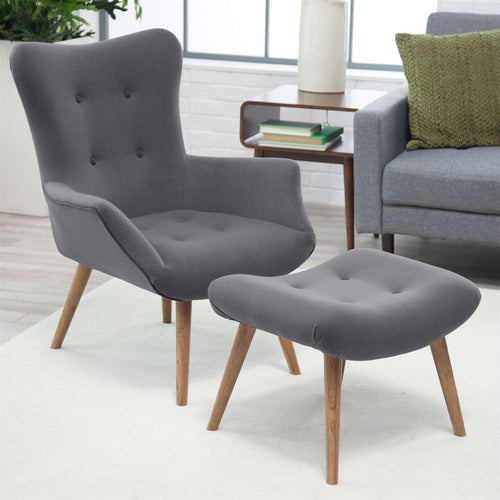 Nice Gray Accent Chair Creative