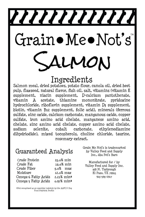 Grain Me Not's Salmon Dog Treats