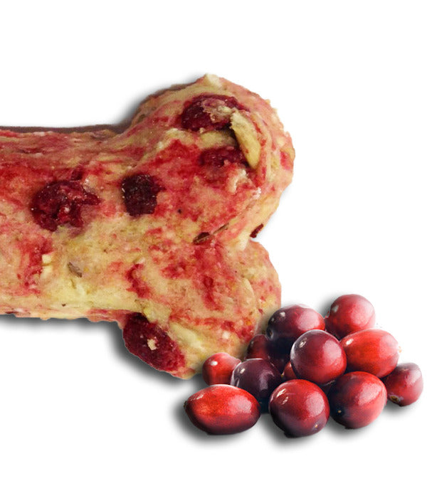 Cranberry Gourmet Dog Biscuits