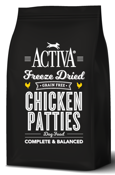Activa Freeze Dried Dog Food