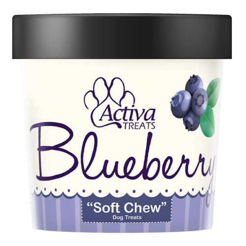 Activa Soft Chew Blueberry Dog Treats