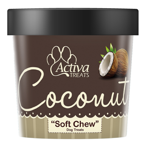 Activa Soft Chew Coconut Dog Treats