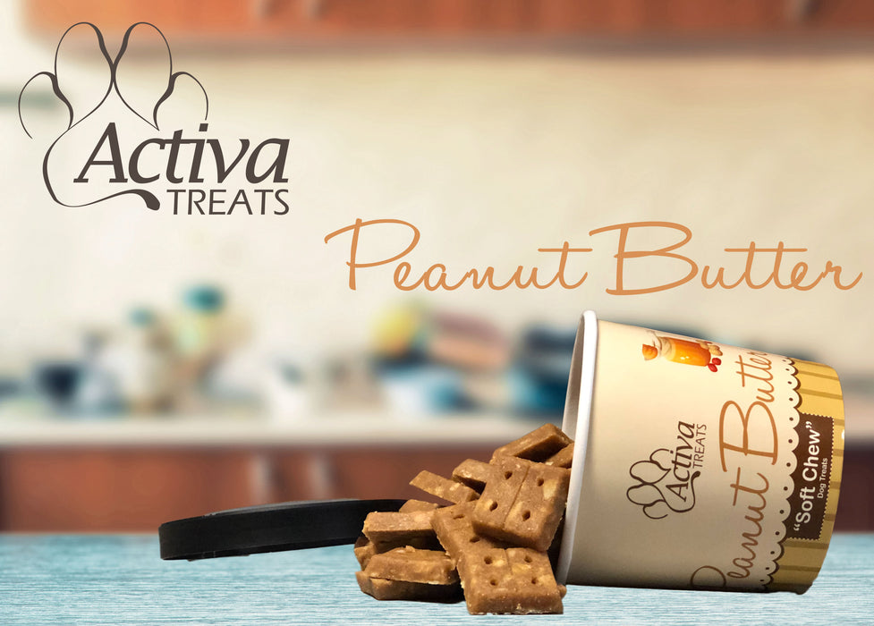 Activa Soft Chew Peanut Butter Dog Treats