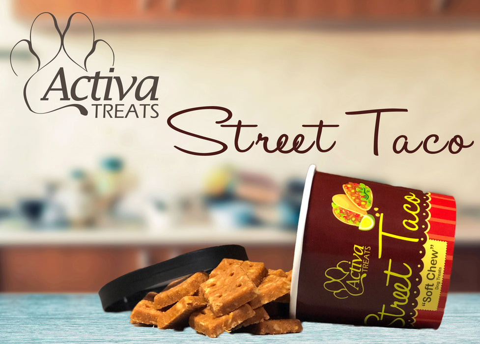 Activa Soft Chew Street Taco Dog Treats