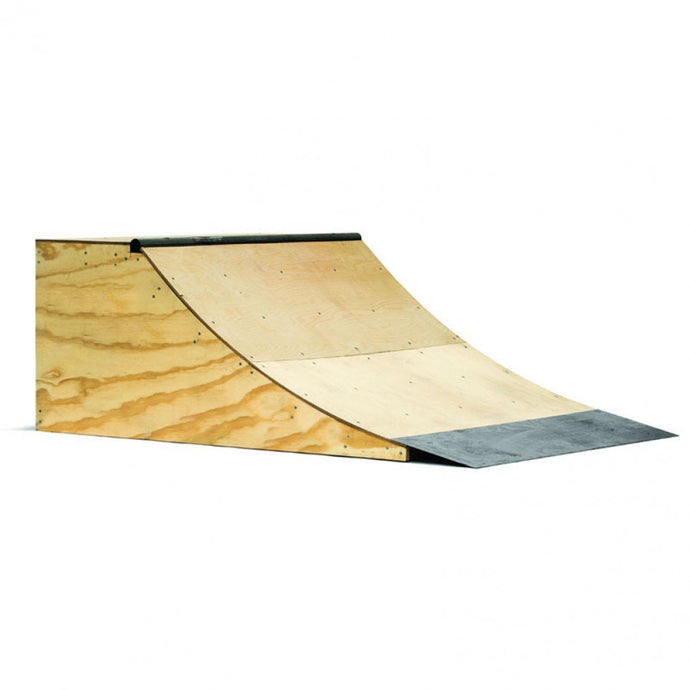 2ft Quarter Pipe. build at home ramps