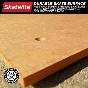 Skatelite Surface for 3 1/2ft. Mini Ramp - 6ft. Wide