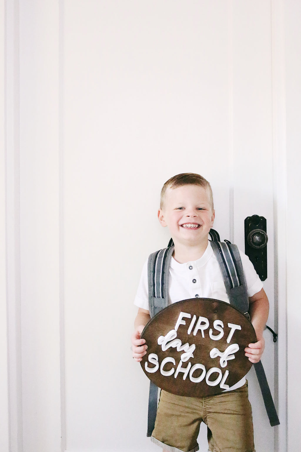 "12"" First Day of School Sign"