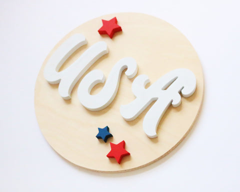 "12"" USA Summer Sign"