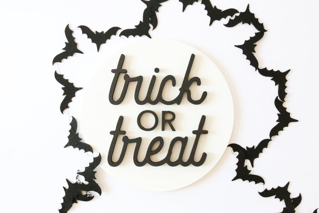 "12"" Trick or Treat Sign"