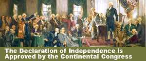 The Declaration of Independence Is Approved by the Continental Congress