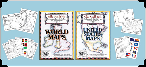 Olde World Style Map Sets