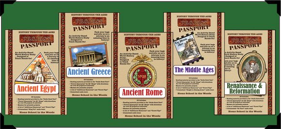 Project Passport World History Studies