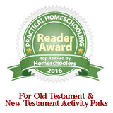 2016 For Old Testament and New Testament Activity-Paks