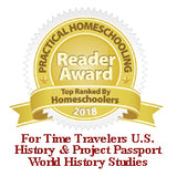 2018 For Time Travelers U.S. History and Project Passport World History Studies