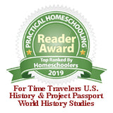 2019 For Time Travelers U.S. History and Project Passport World History Studies