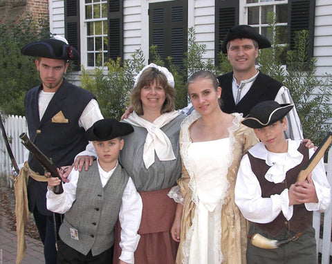 The Paks at Colonial Williamsburg