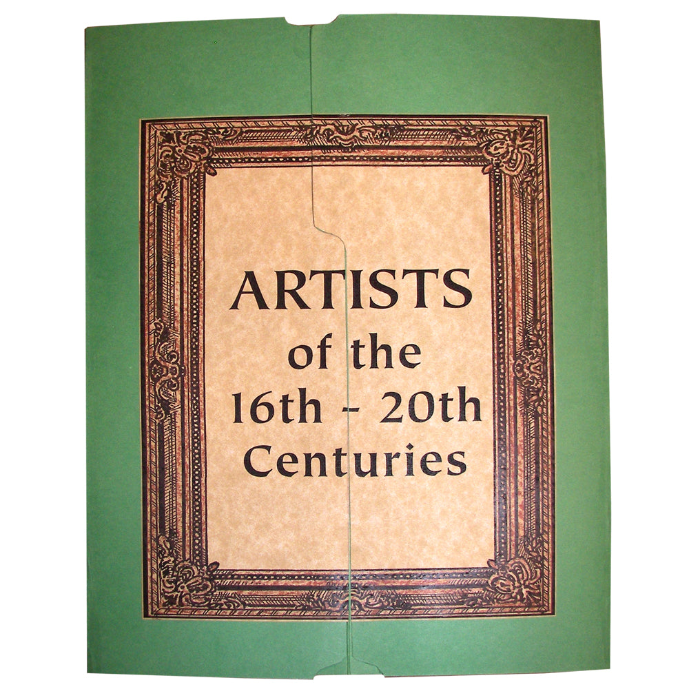 Cover of the Artists Lap Book