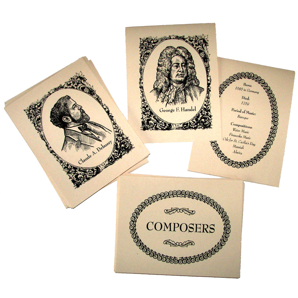 """Composers Matching Cards"" Project"