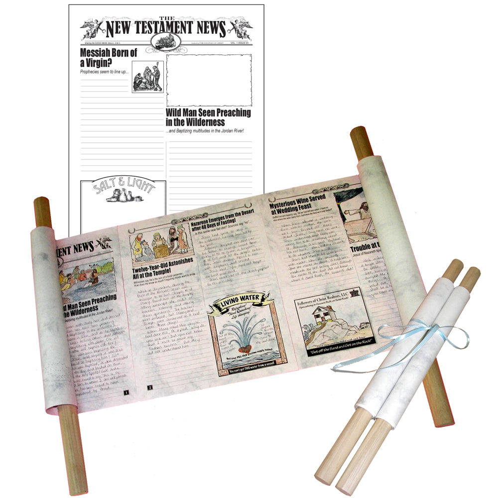 """The New Testament News"" Creative Writing Newspaper"