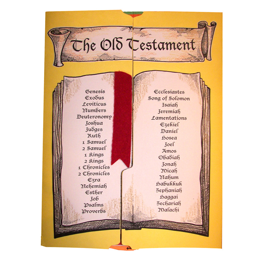 Cover of the Old Testament Lap Book