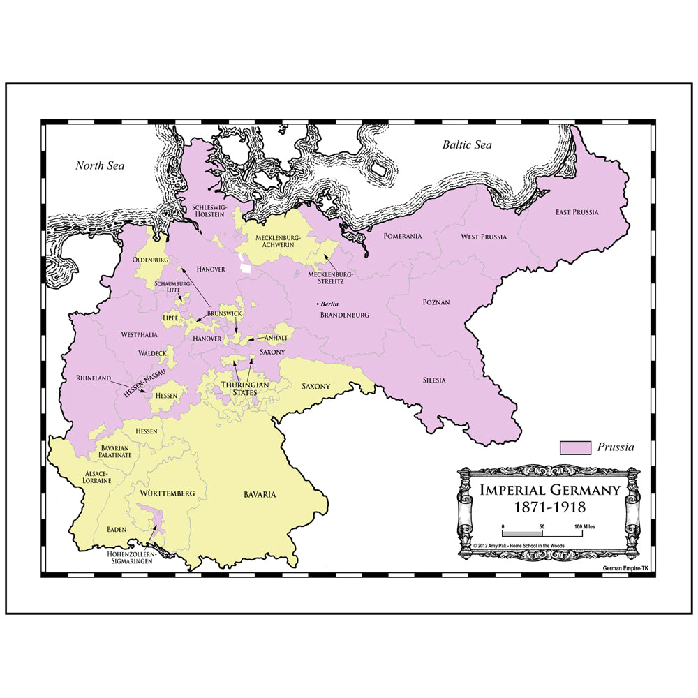 Mapping the German Empire Notebooking Project