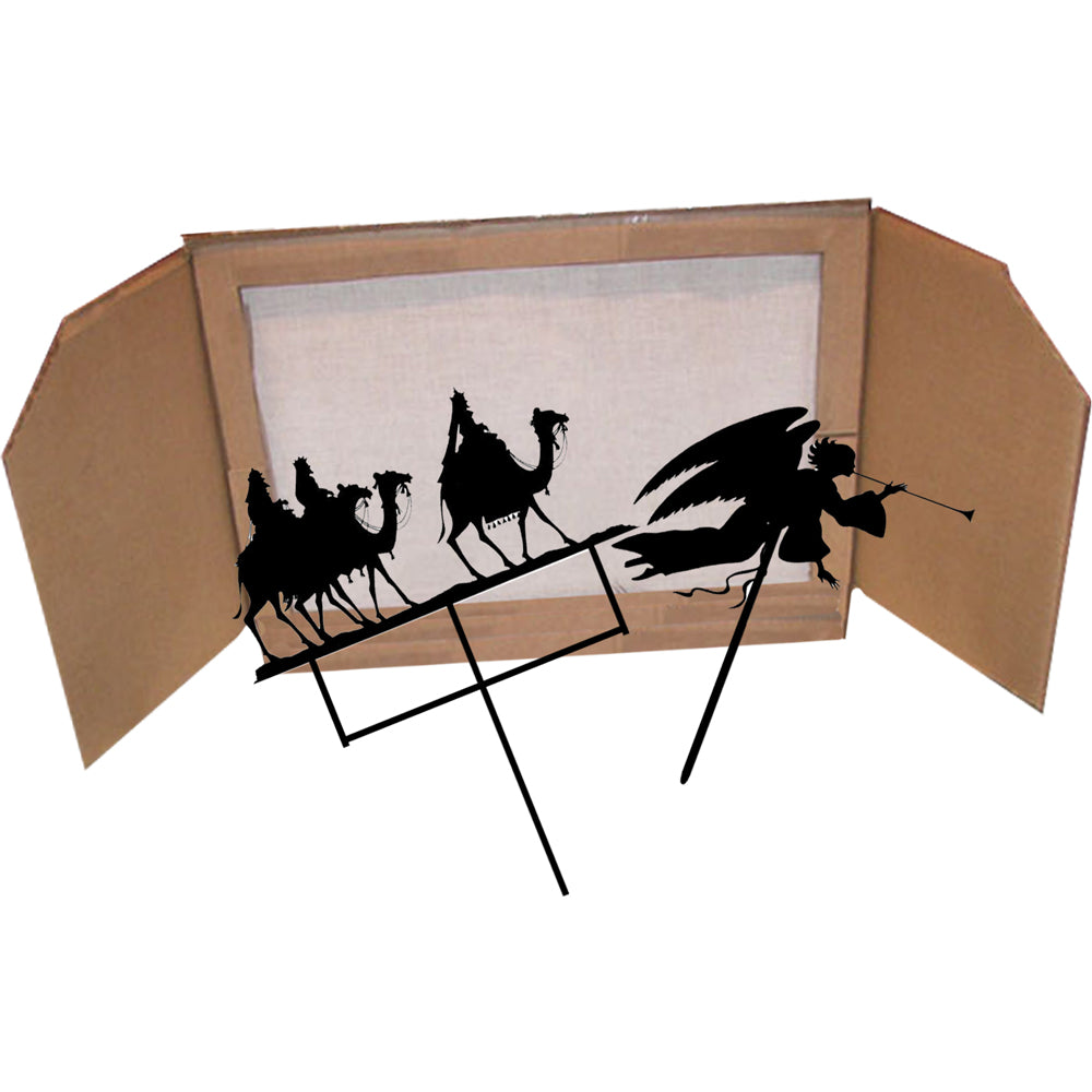 """The Nativity Story"" A Shadow Puppet Play"