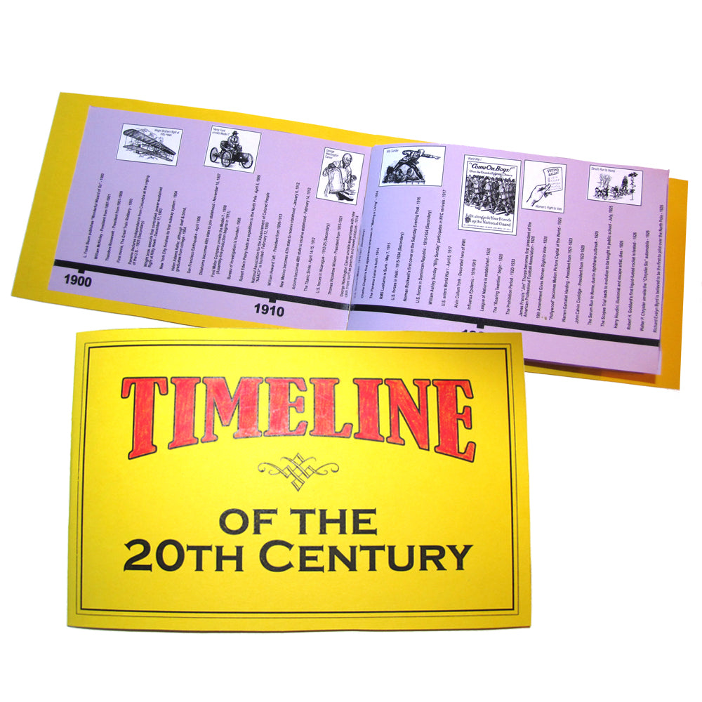20th Century in America Timeline