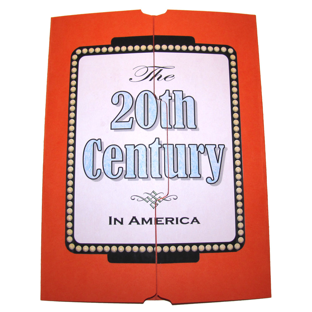 Cover of The 20th Century in America Lap Book