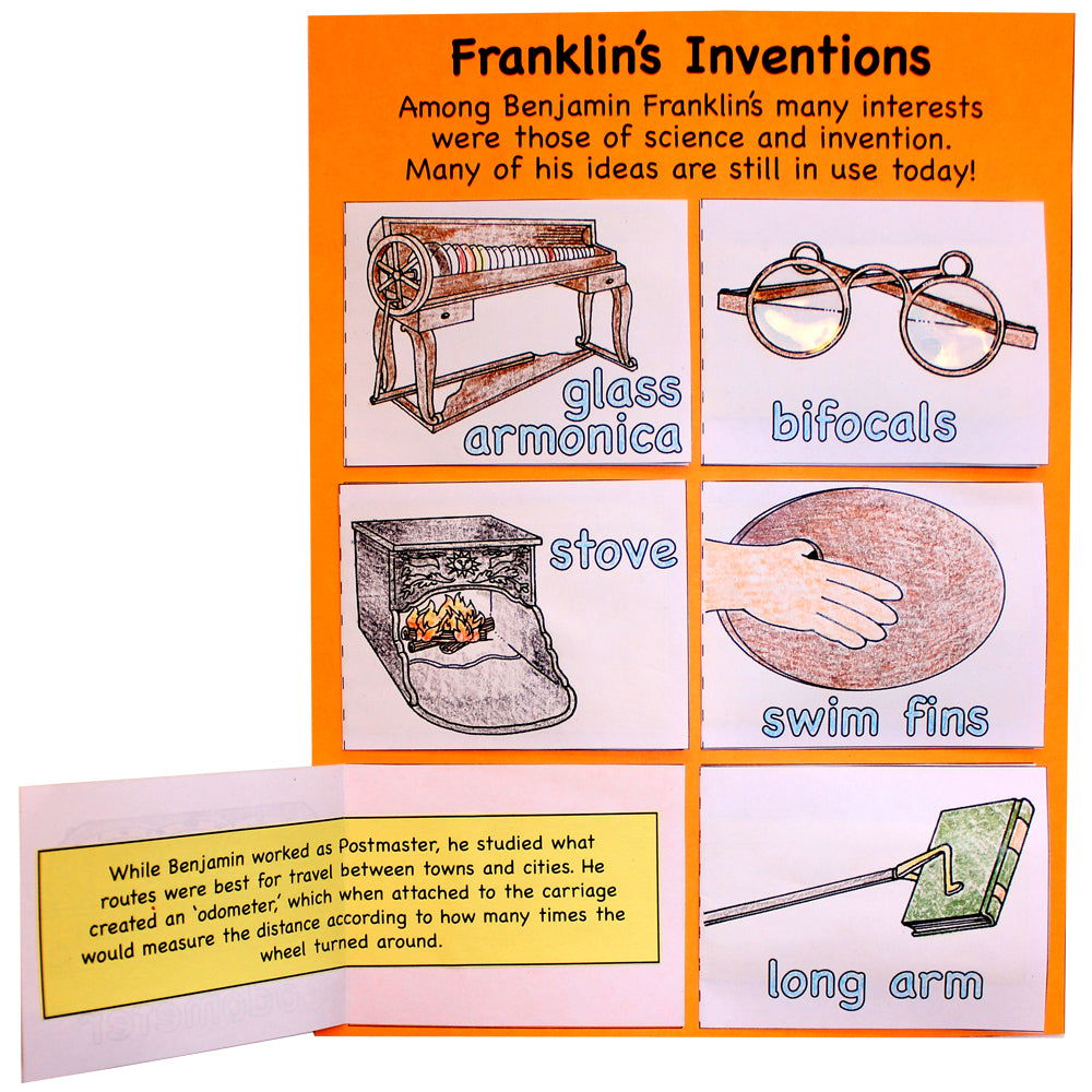 Franklin's Inventions Lap Book Project