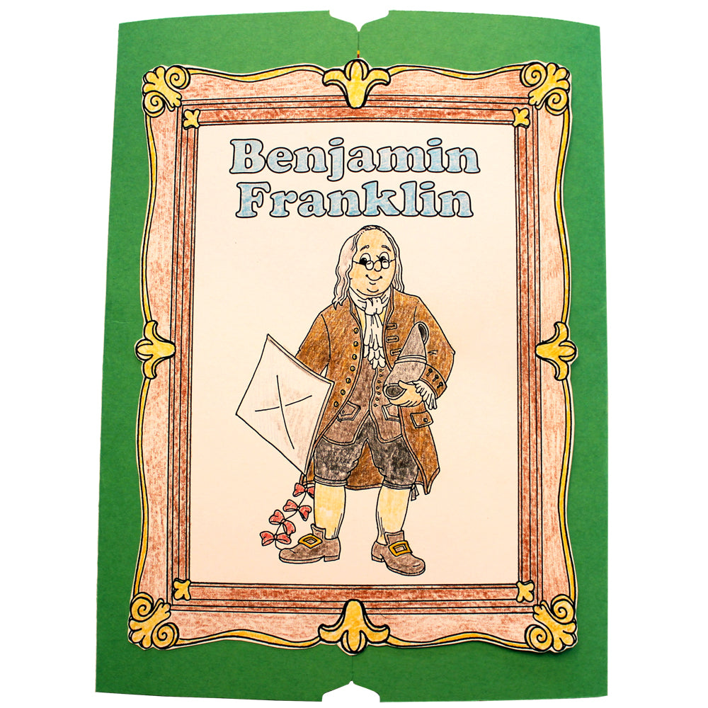 Cover of the Benjamin Franklin Lap Book