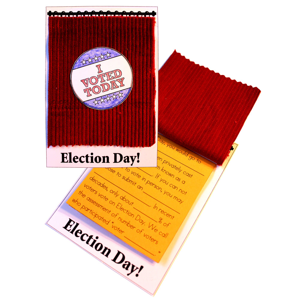 Election Day Lap Book Project