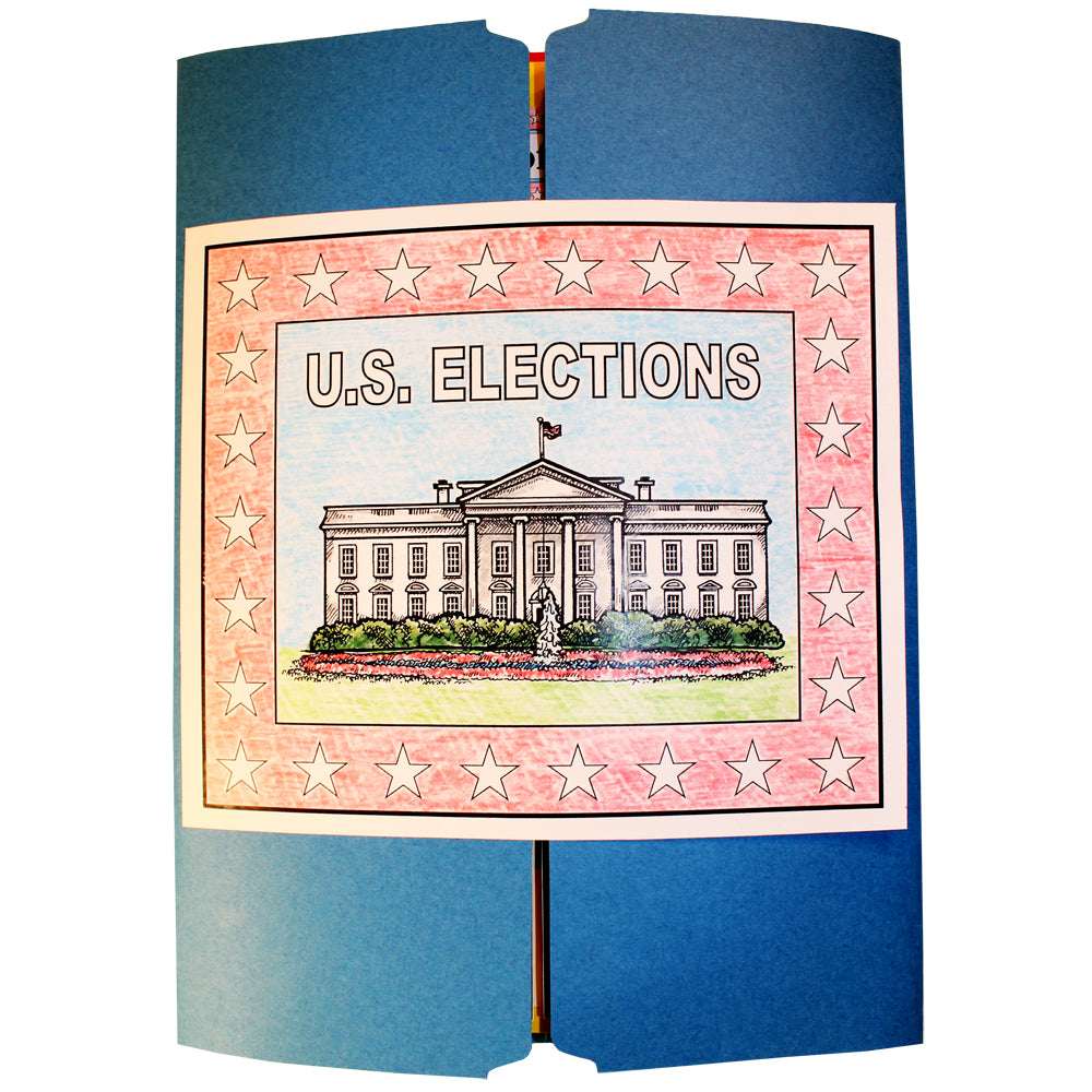 Cover of the U.S. Elections Lap Book