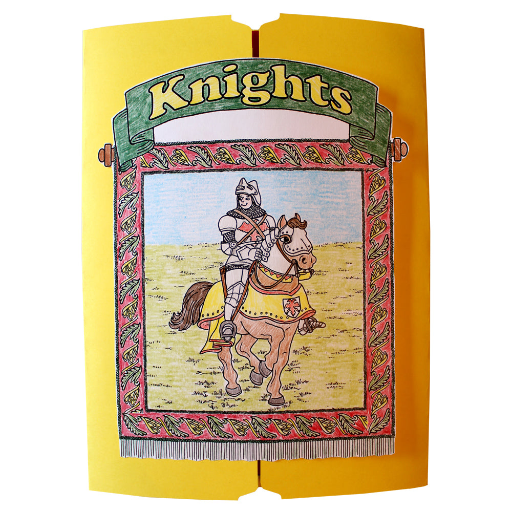 Cover of the Knights Lap Book