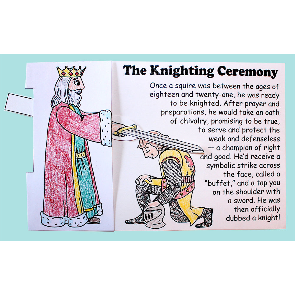 The Knighting Ceremony Lap Book Project