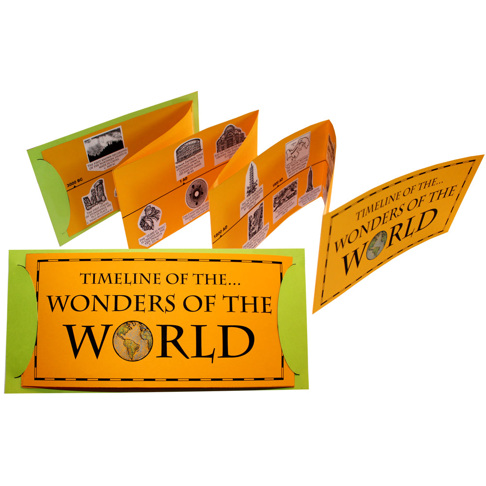 Timeline of the Wonders of the World Lap Book Project