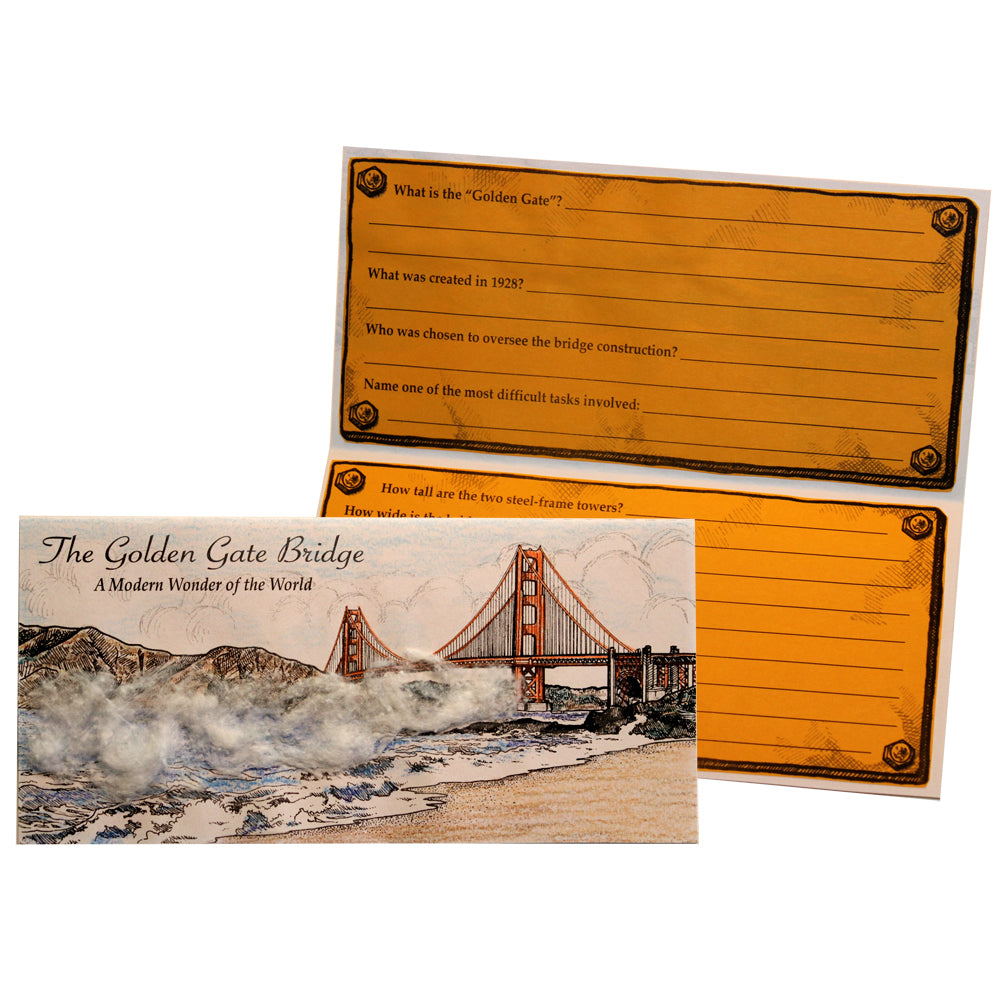 The Golden Gate Bridge Lap Book Project