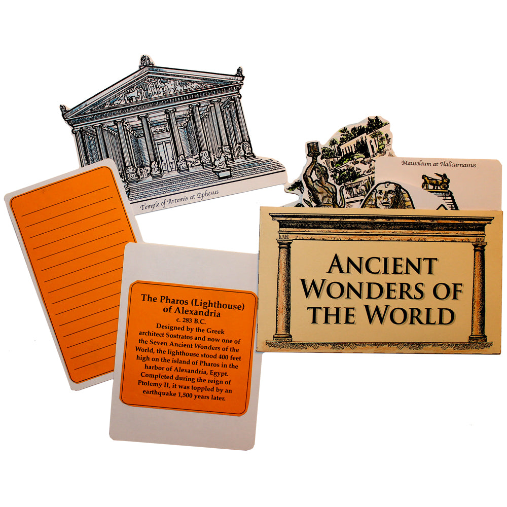 Ancient Wonders Lap Book Project