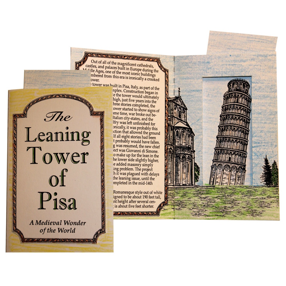 The Leaning Tower of Pisa Lap Book Project