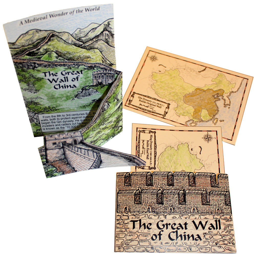The Great Wall of China Lap Book Project