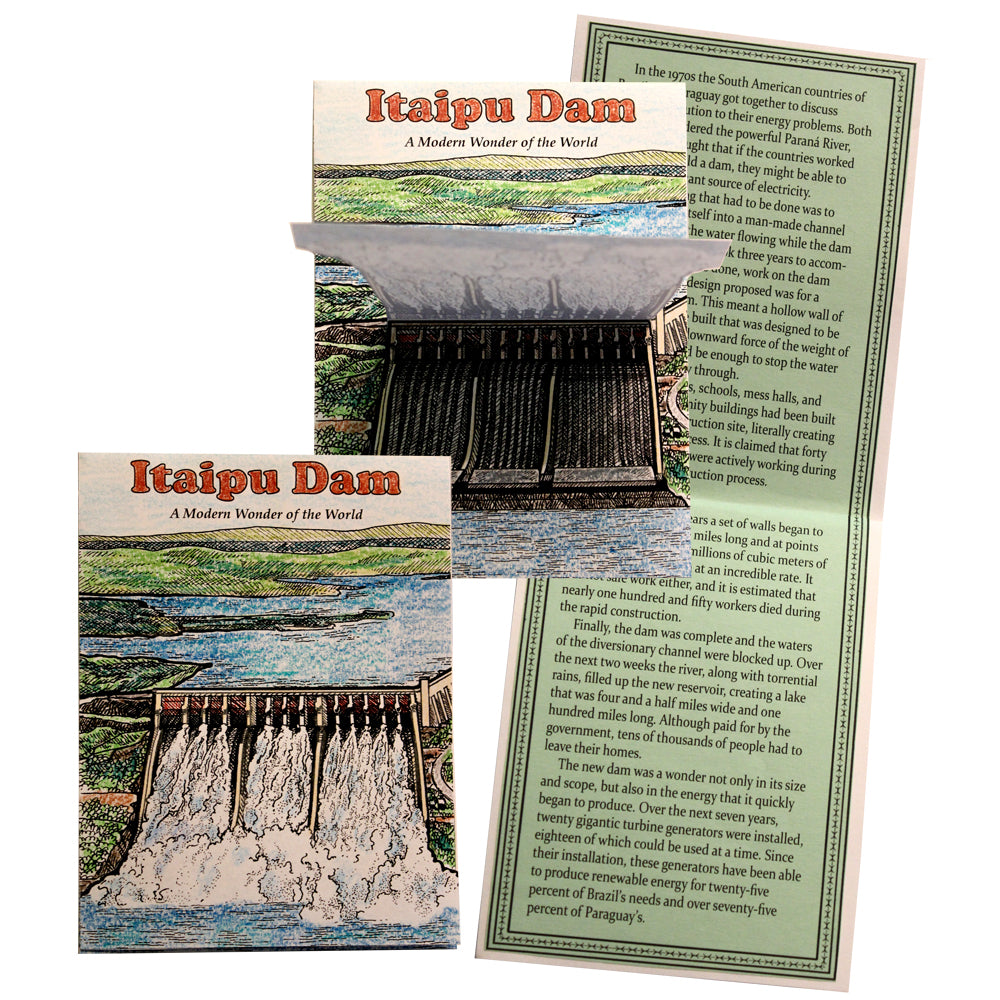 Itaipu Dam Lap Book Project
