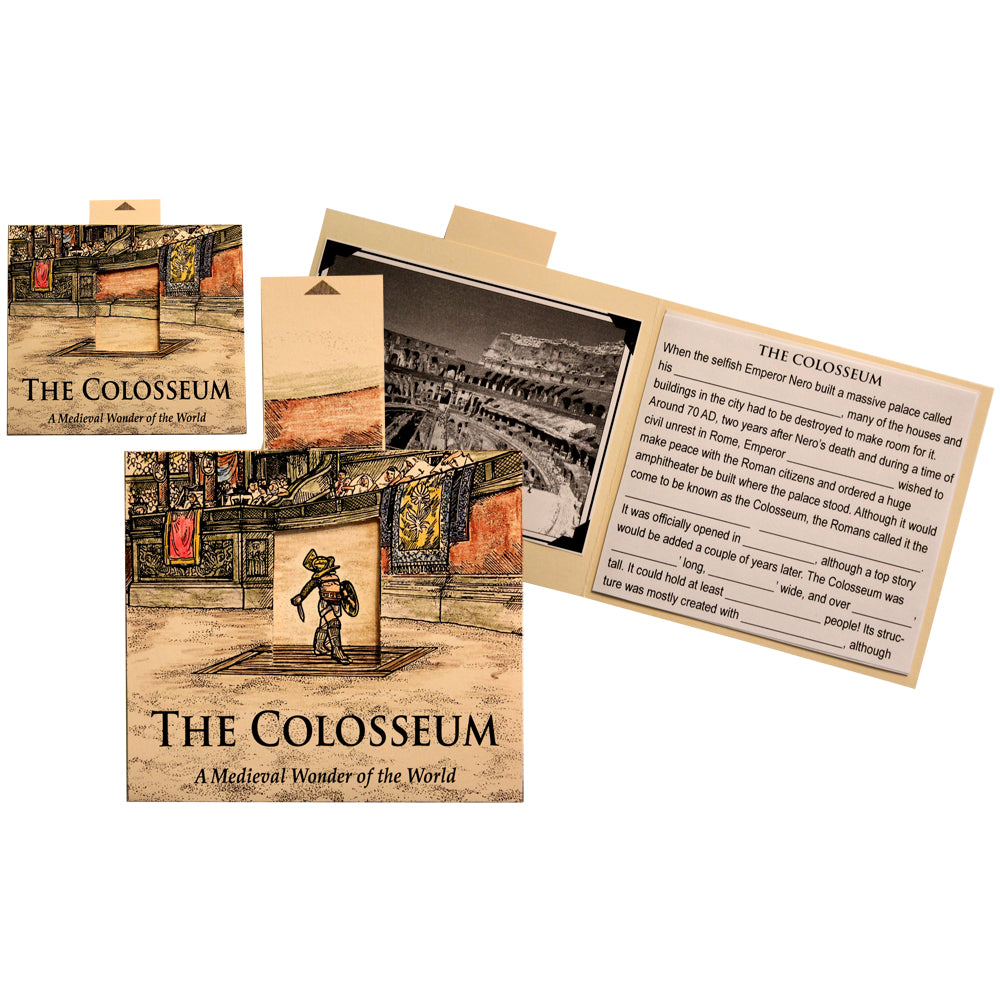 The Colosseum Lap Book Project
