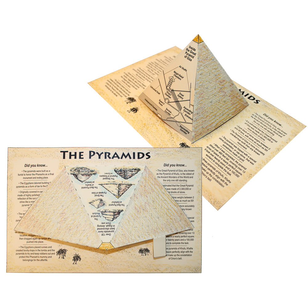Pop-Up Pyramid Lap Book Project
