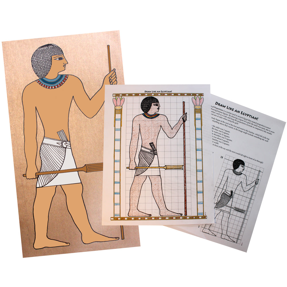 Draw like an Egyptian Notebooking Project