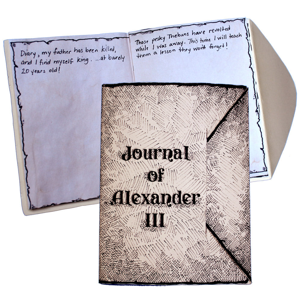 Journal Of Alexander III Lap Book Project