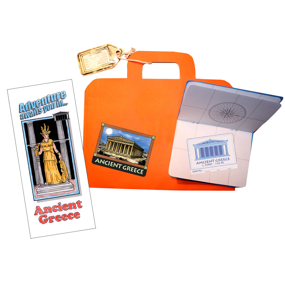 Passport Luggage Brochure Notebooking Pages