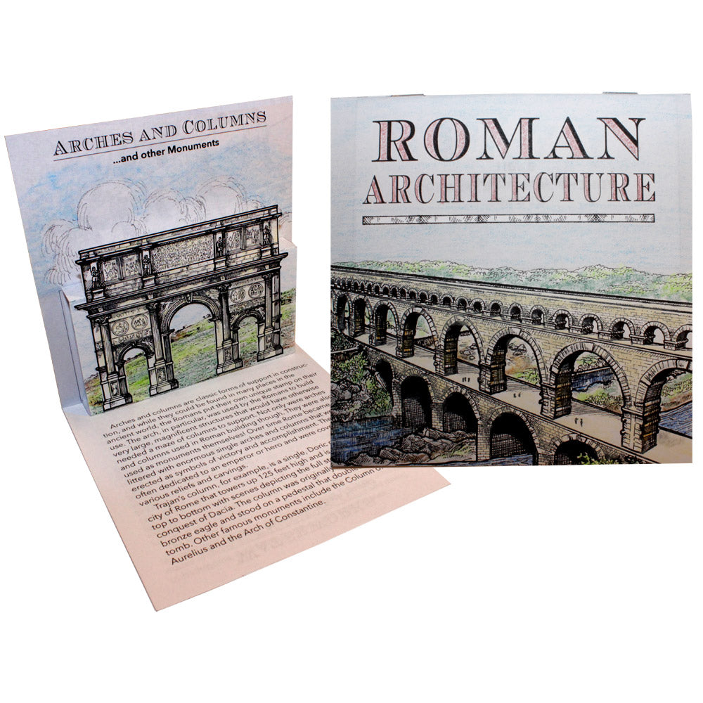 Roman Architecture Lap Book Project