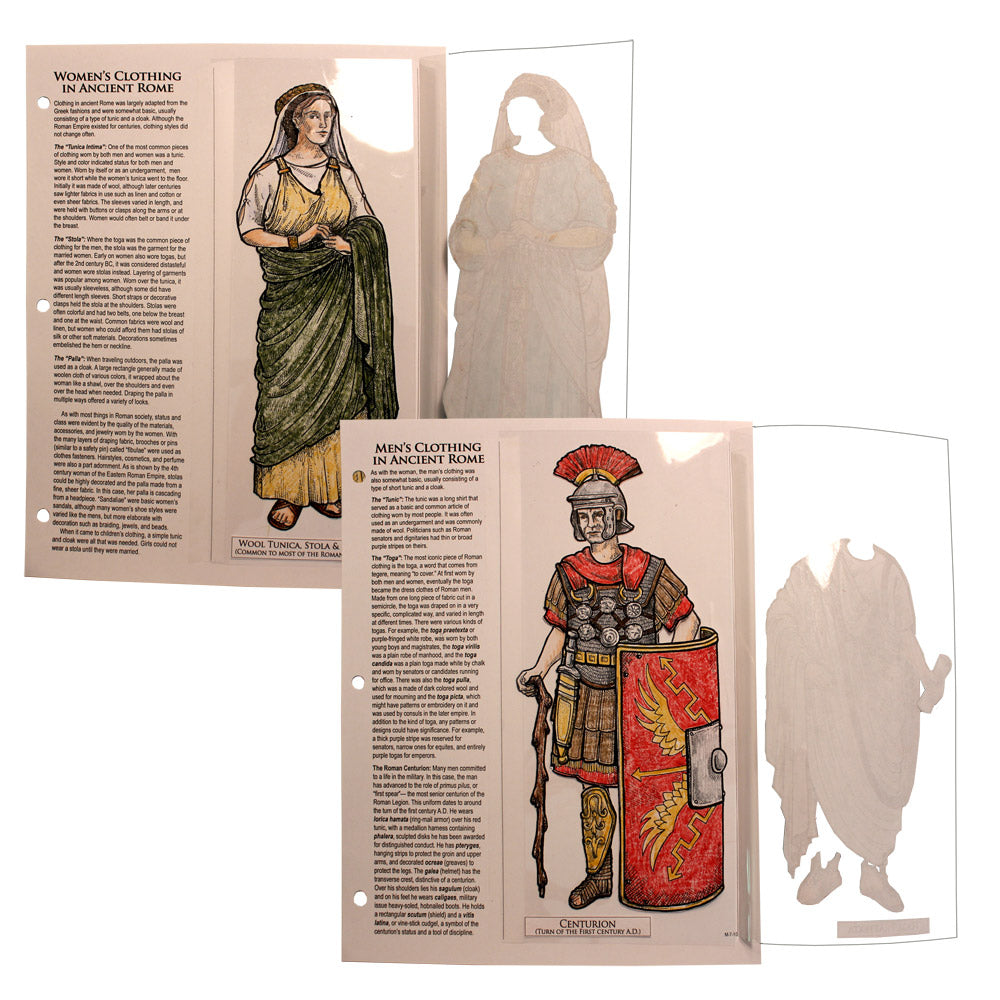 Roman Clothing Notebooking Project