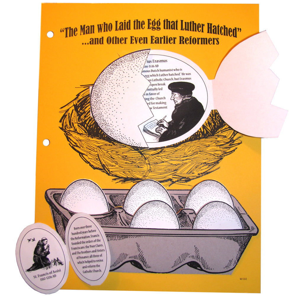 The Man who Laid the Egg Notebooking Project